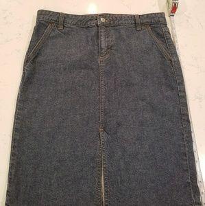 J Crew Denim Pencil Skirt (8)
